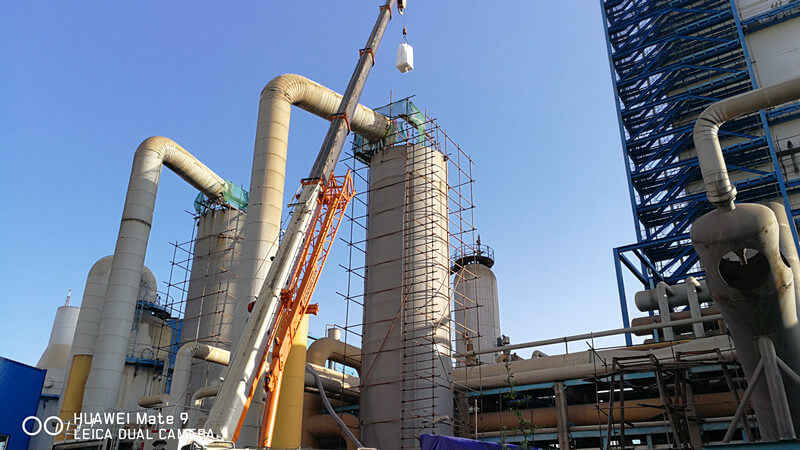 Cryogenic air separation unit Project